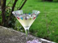 Lilac Martini